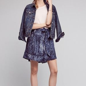 Anthropologie Wendy High-Low Skirt by Amadi